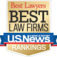 """selected as a """"Best Law Firm"""""""
