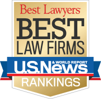 "selected as a ""Best Law Firm"""